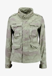 Superdry - DELTA SOFT CAMO ROOKIE - Summer jacket - khaki - 5