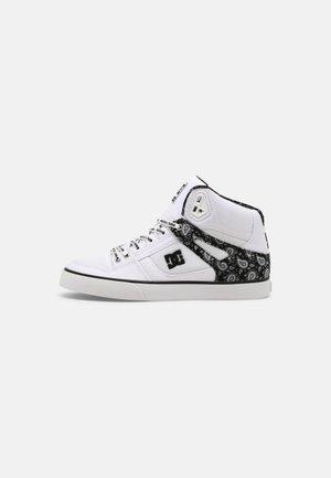 PURE UNISEX - Scarpe skate - black/white/silver