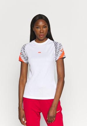 STRIKE 21 - Print T-shirt - white/black/bright crimson