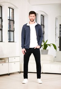 TOM TAILOR - TROY - Slim fit jeans - black denim - 4