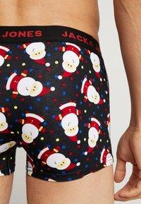 Jack & Jones - JACORG SOCKS TRUNKS GIFT 4 PACK - Underkläder - black/navy blazer - 2