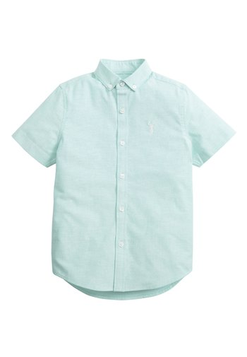 MINT SHORT SLEEVE OXFORD SHIRT (3-16YRS) - Camicia - green