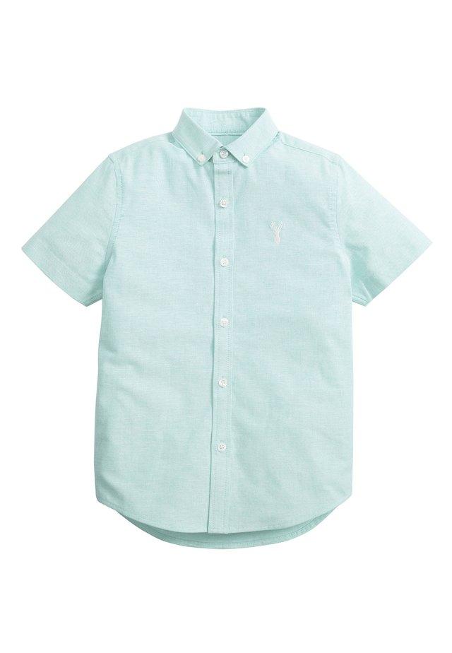 MINT SHORT SLEEVE OXFORD SHIRT (3-16YRS) - Košile - green