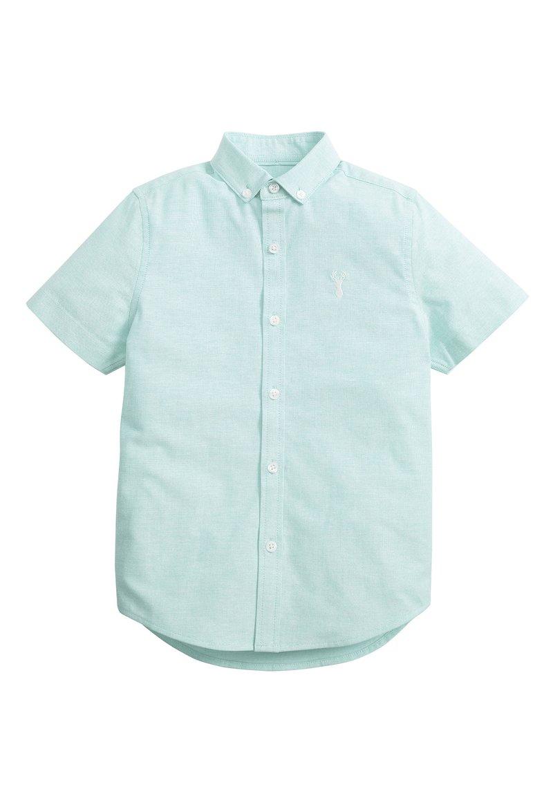 Next - MINT SHORT SLEEVE OXFORD SHIRT (3-16YRS) - Shirt - green
