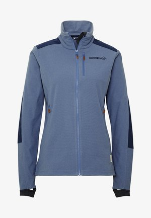 SVALBARD WARM JACKET - Fleecejacke - coronet blue