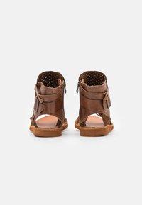 Felmini - CAROLINA  - Ankle cuff sandals - brown - 3
