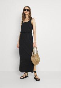 Vero Moda - VMADAREBECCA ANKLE DRESS - Maxi dress - black - 1