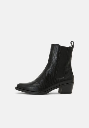 GREYA - Cowboy/biker ankle boot - black