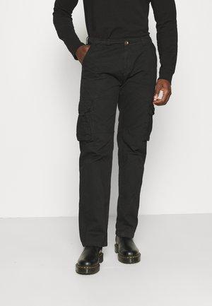 BEAM - Cargo trousers - black