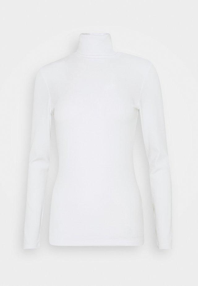TURTLE NECK LONGSLEEVE - Langærmede T-shirts - clear white