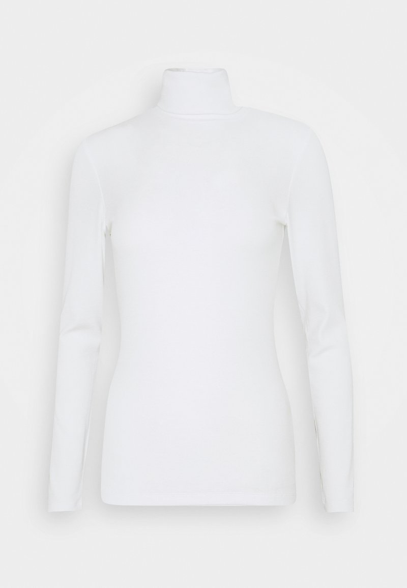 Marc O'Polo PURE - TURTLE NECK LONGSLEEVE - Long sleeved top - clear white