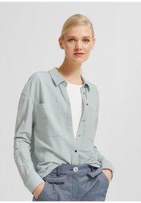 comma - Button-down blouse - light green - 0