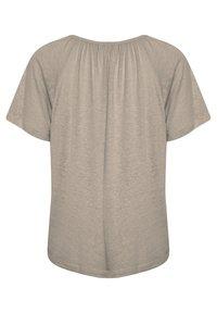 Cream - CRLUNA - Camiseta básica - timber wolf - 1