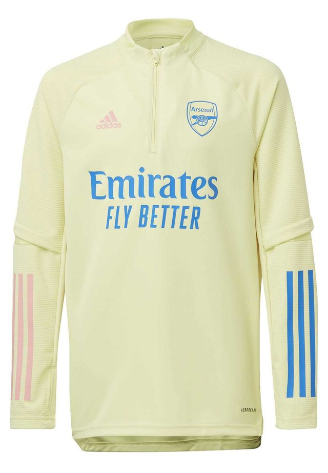 ARSENAL TRAINING TOP - Article de supporter - yellow