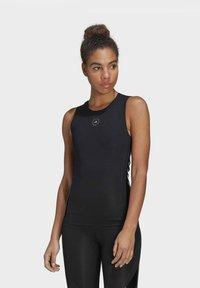 adidas by Stella McCartney - SUPPORT CORE  - Sports shirt - black - 0