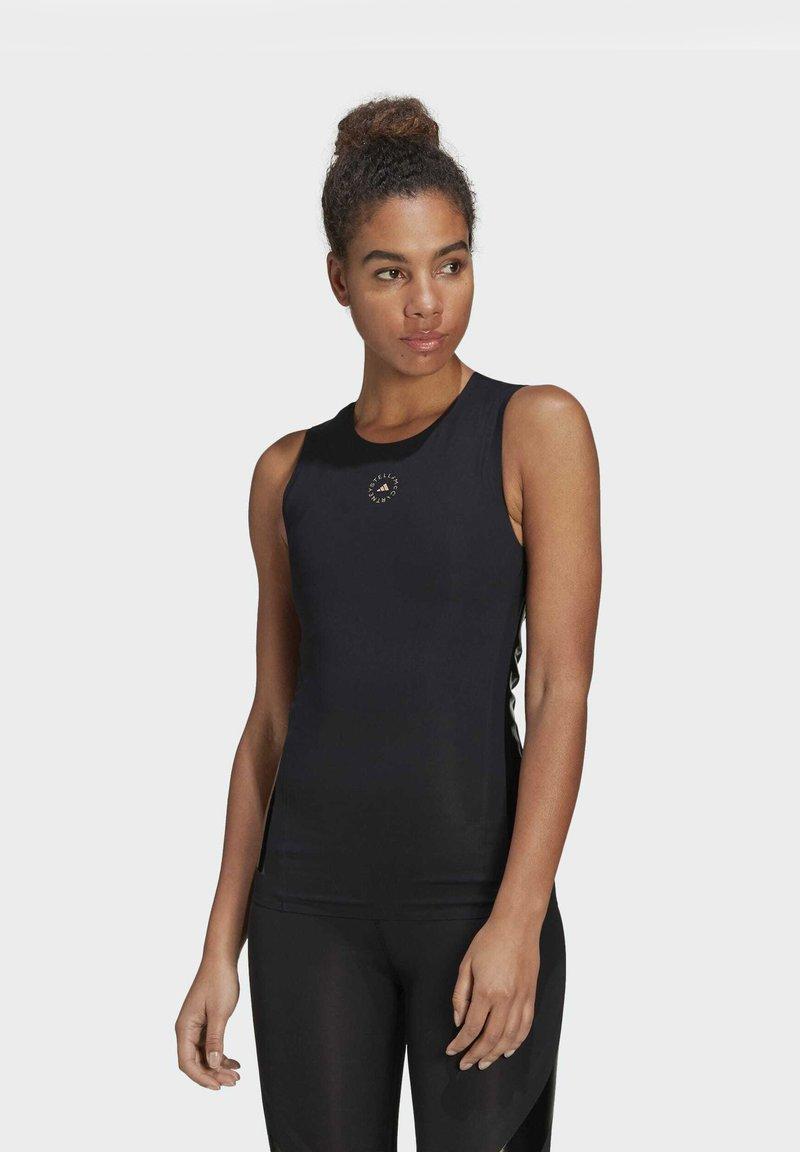 adidas by Stella McCartney - SUPPORT CORE  - Sports shirt - black
