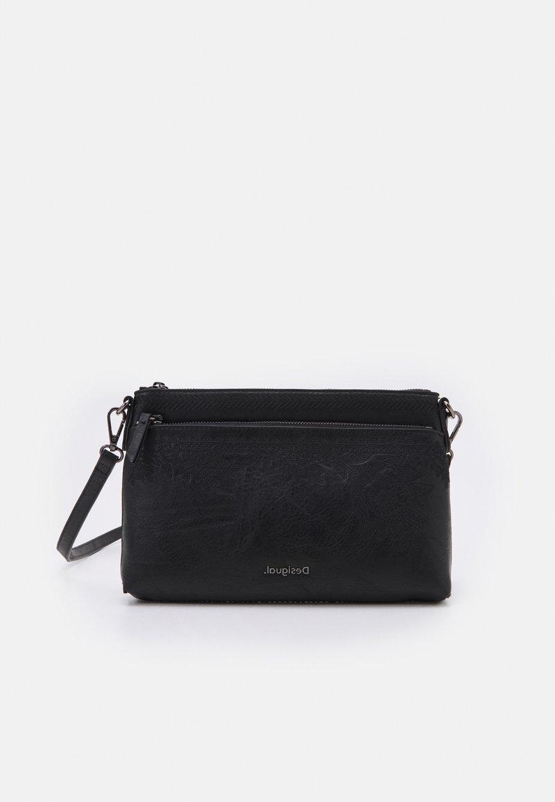 Desigual - BOLS LYRICS DURBAN ONE POCKET - Handbag - black