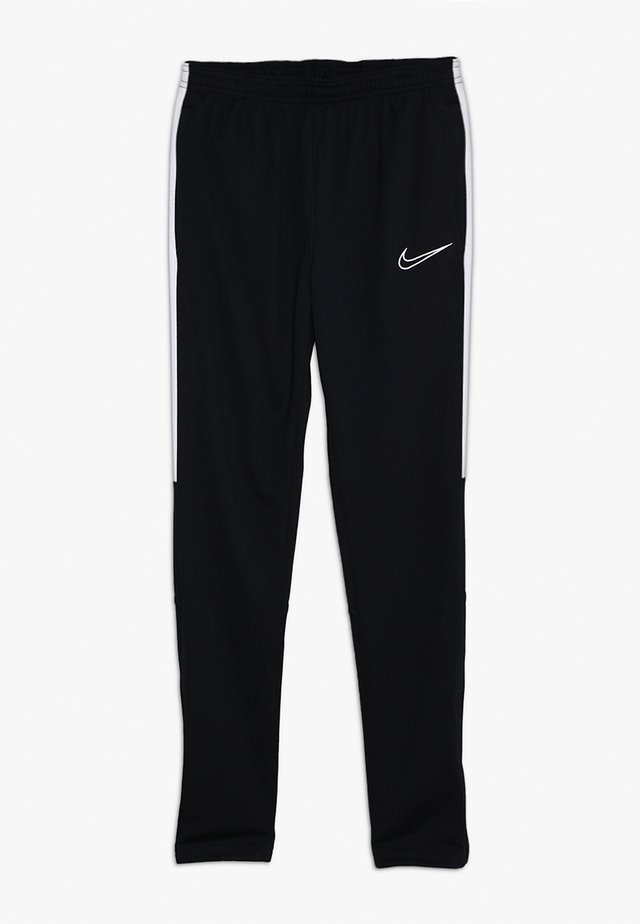DRY - Tracksuit bottoms - black/white