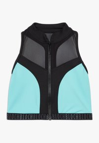 Bloch - GIRLS ZIP UP - Sports bra - blue radiance - 0