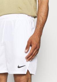 Nike Performance - VICTORY SHORT - Sports shorts - white/black - 3