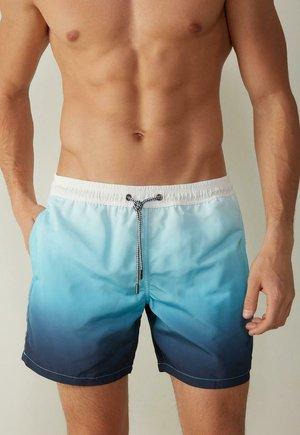 Swimming shorts - blue, blue, light blue
