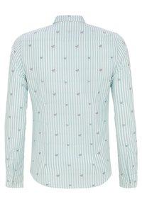 Jimmy Sanders - MIT STREIFENMUSTER - Button-down blouse - mint - 4