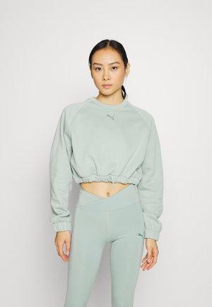 CROPPED CREW - Sweatshirt - jadeite