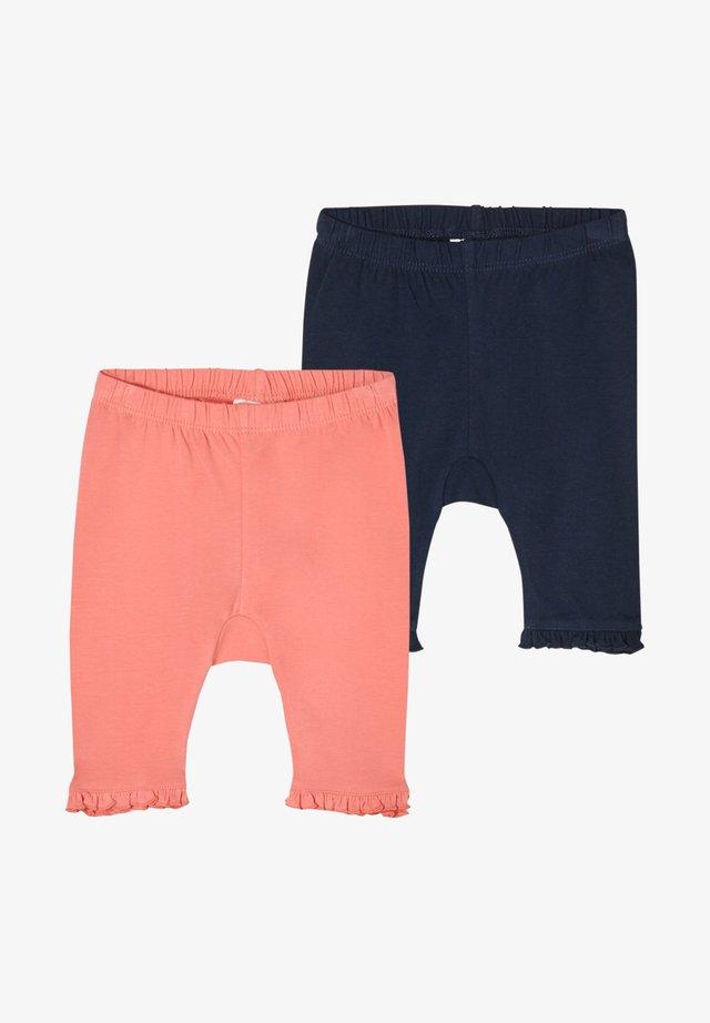 PACK OF 2 - Leggings - Hosen - pink navy