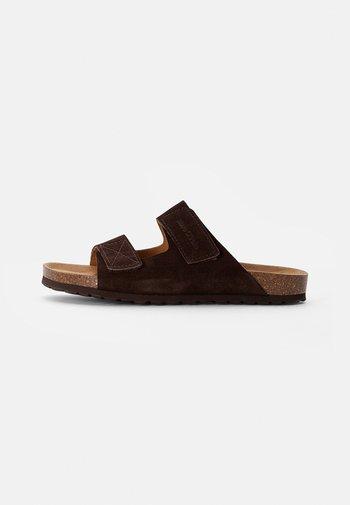 BORIS - Mules - dark brown