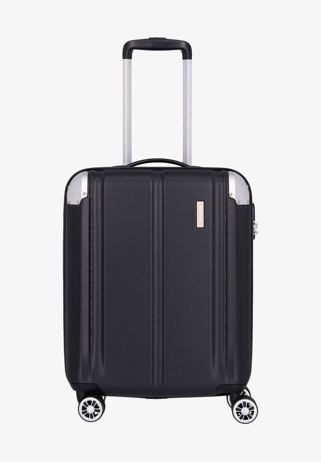 Wheeled suitcase - schwarz