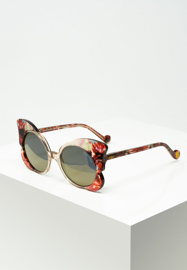 Sunglasses - crysta/red