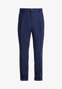 Tommy Hilfiger Tailored - SLIM FIT PLEATED FLEX PANT - Kalhoty - blue - 4
