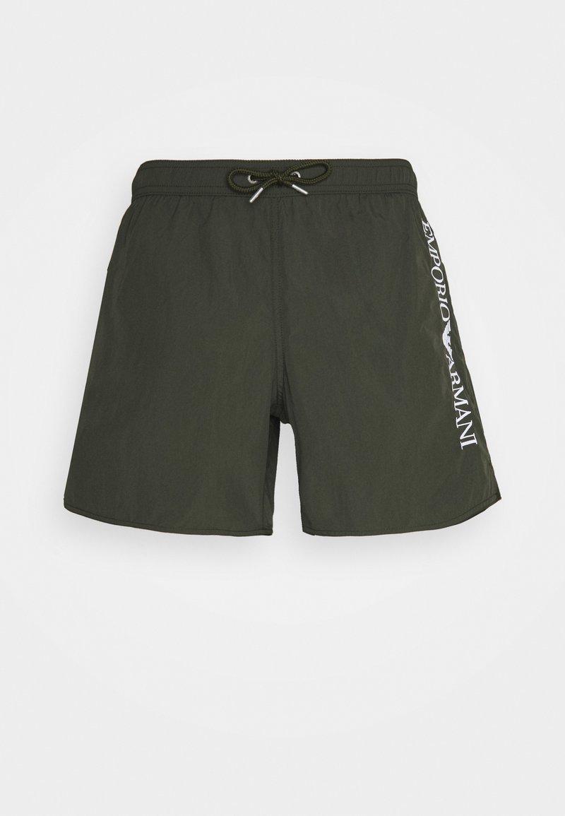 Emporio Armani - BOXER - Plavky - military green