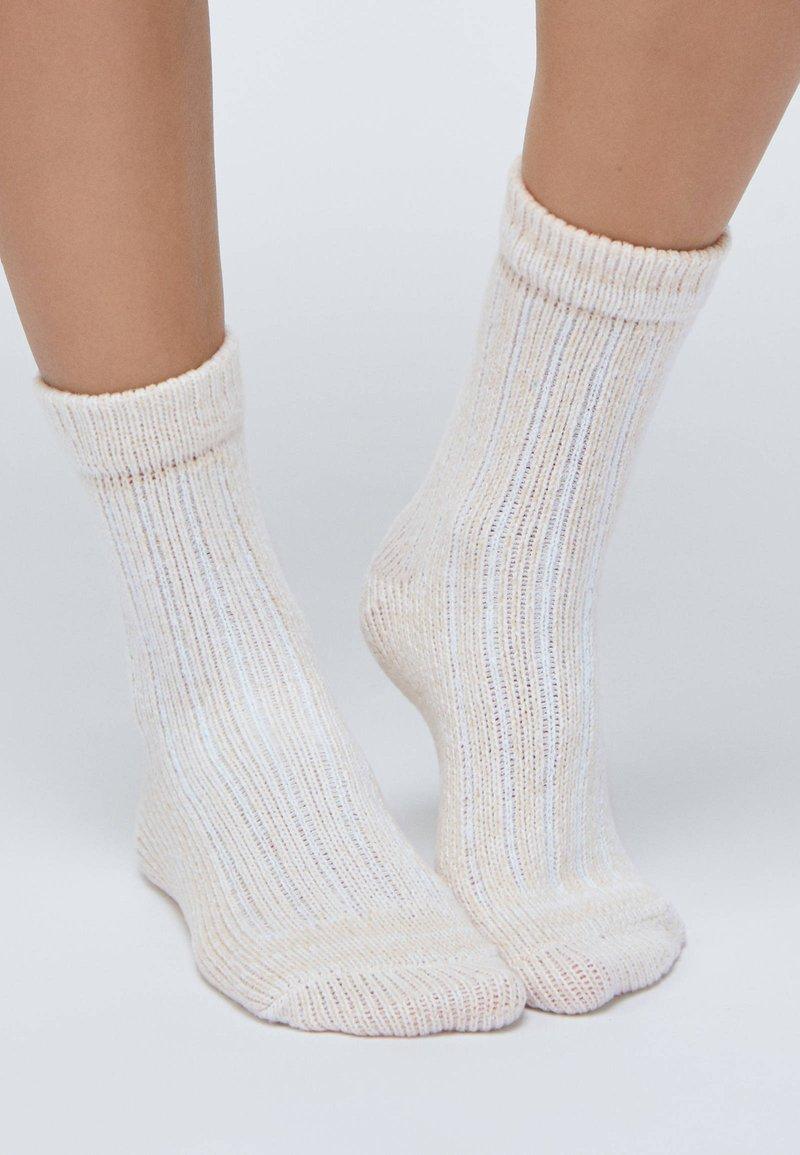 OYSHO - 2 PACK - Socks - light grey