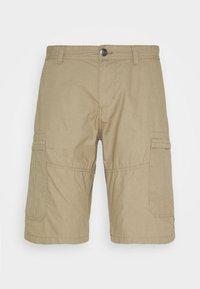 BERMUDA - Shorts - beige mini geo design