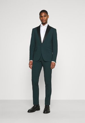 STRETCH TUXEDO SUIT - Completo - bottle green