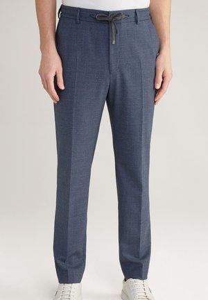 BAX - Suit trousers - navy gemustert
