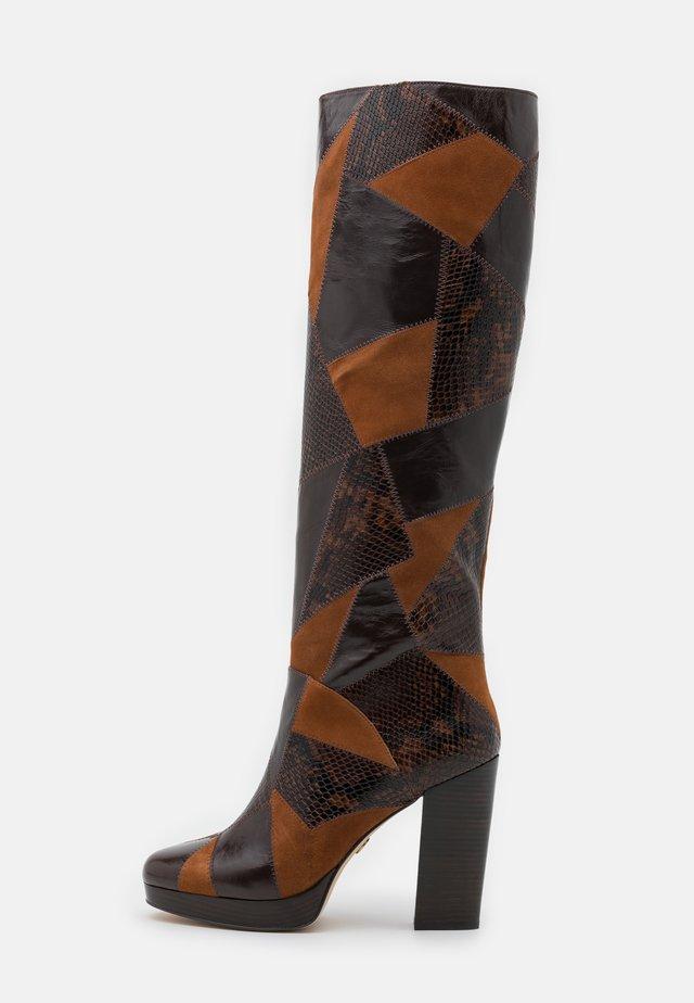HANYA BOOT - Platform boots - multicolor