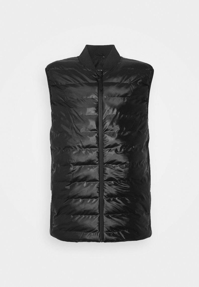 Rains - TREKKER VEST UNISEX - Vesta - shiny black