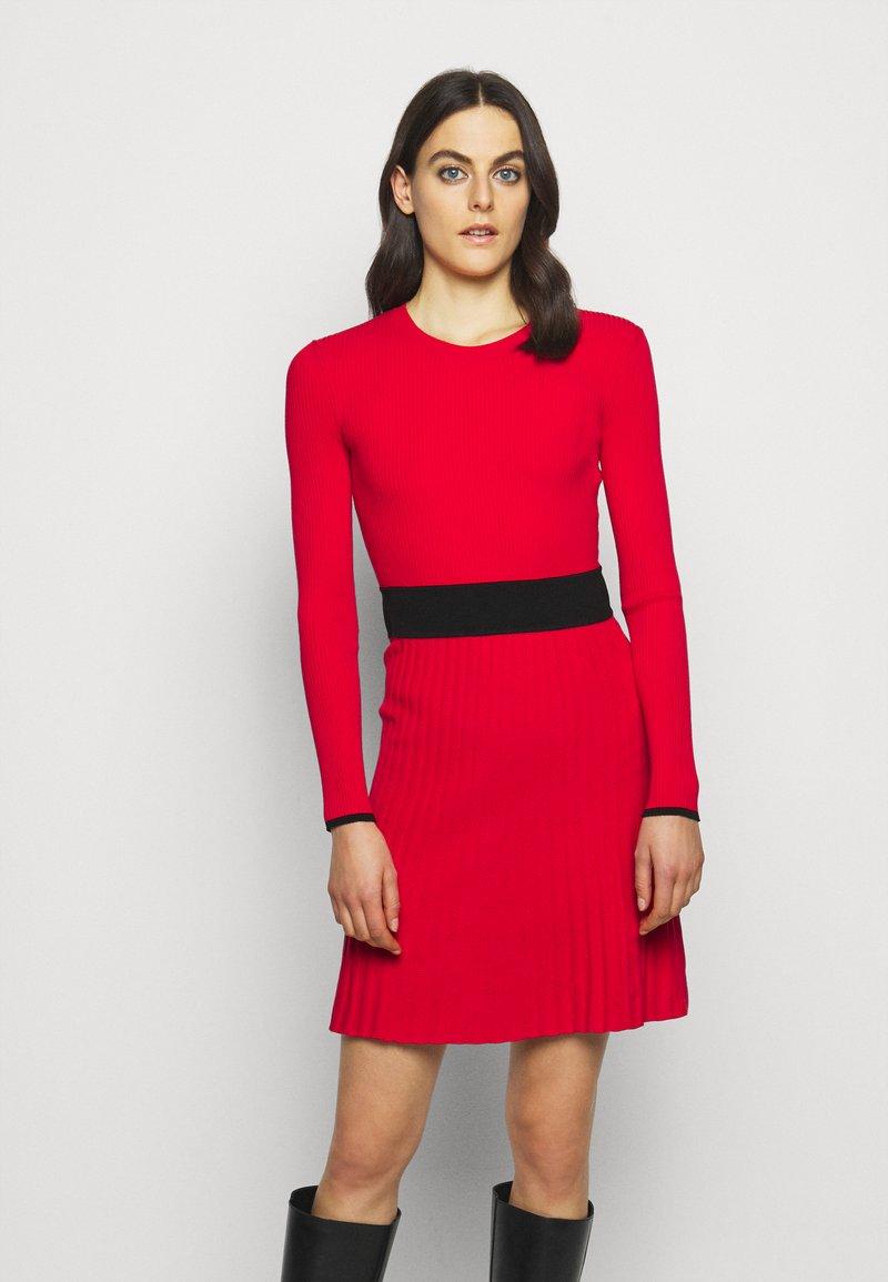 HUGO - SEAGERY - Jumper dress - open pink
