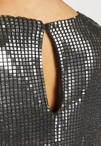 Vero Moda - VMCHARLI SHORT SEQUINS DRESS - Cocktail dress / Party dress - black/silver - 3