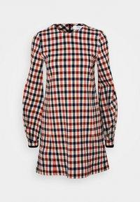Victoria Victoria Beckham - BELL SLEEVE SHIFT DRESS - Day dress - cream/sunset/midnight - 8