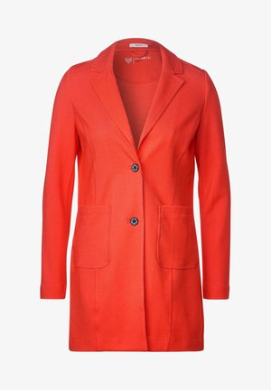 MIT REVERSKRAGEN - Blazer - orange