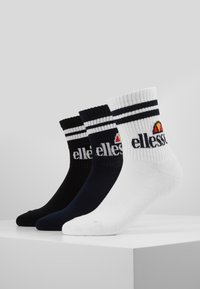 Ellesse - 3 PACK  - Ponožky - navy/white/black - 0