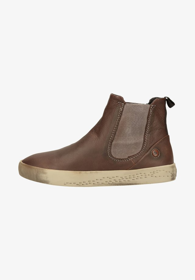 Ankle boot - dk. brown