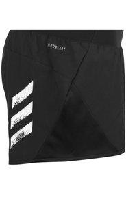 adidas Performance - RUN IT 3 STRIPES RESPONSE SHORTS RUNNING - Sports shorts - black - 2