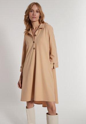 ELASEA - Shirt dress - beige