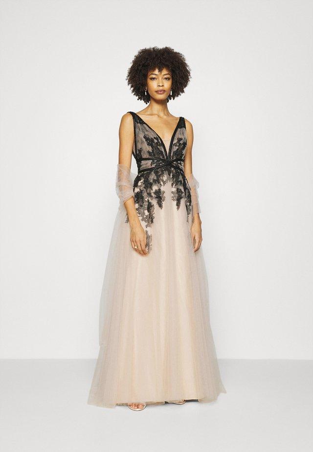 Suknia balowa - black/powder pink
