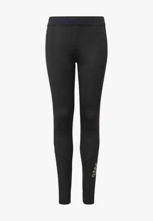 Legging - black/silvmt