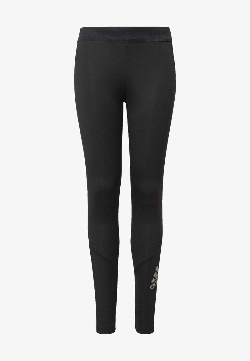 adidas Performance - Legging - black/silvmt